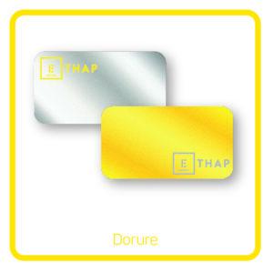 ETHAP Picto dorure or argent cuivre Lille Douai Imprimerie Signalétique Routage