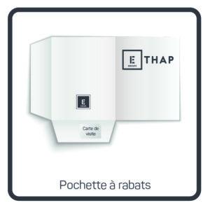 ETHAP Picto pochette a rabats Lille Douai Imprimerie Signalétique Routage