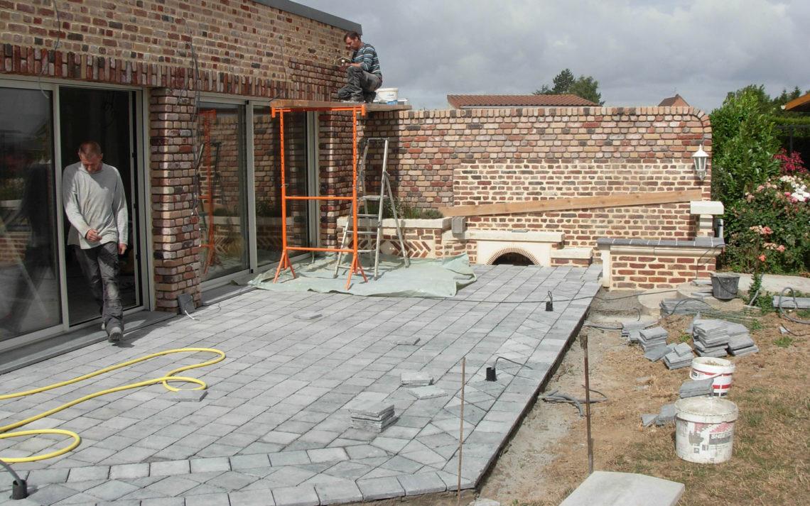 ethap.fr-maçonnerie-brique-extension-terrasse pierre bleu