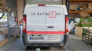 Covering Marquage Lettrage Camion Vehicule Batiment Chantier Ethap
