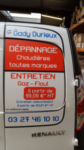 Covering Marquage Lettrage Gady Durieux Ethap