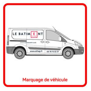 ETHAP Picto Marquage vehicule covering Lille Douai Imprimerie Signalétique Routage